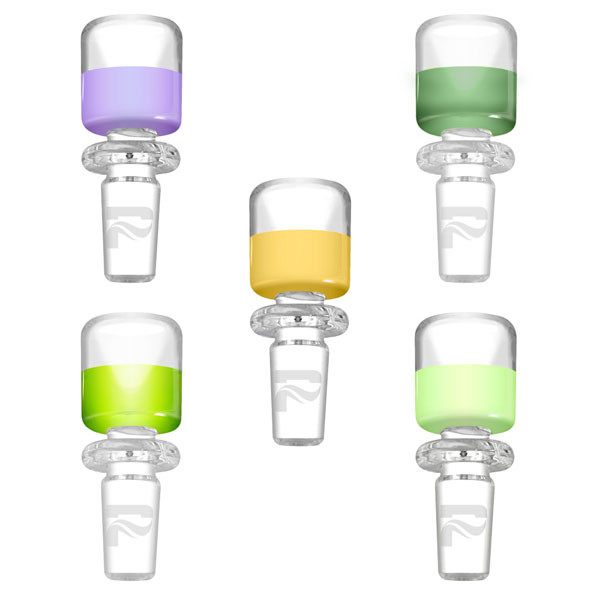 Pulsar Colored Herb Slide - 19mm Male | Assorted Colors