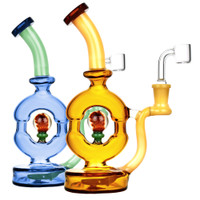 Pulsar Donut Oil Rig | Scientific Glass | Master Distributor