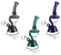 "Pulsar Double Cup Recycler Rig -7.5"" / 14mm F / Asst Colors"