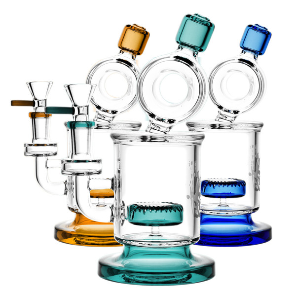 Pulsar Fat Can Water Pipe | Assorted Colors | Master Distributor