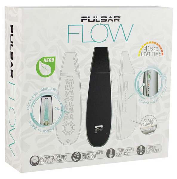 Pulsar Flow Dry Herb Vaporizer - Wood Grain