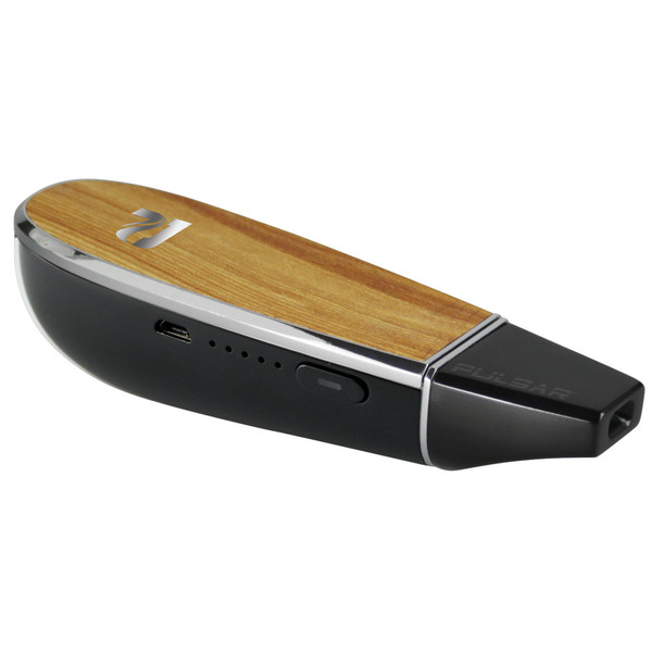 Pulsar Flow Dry Herb Vaporizer - Wood Grain - AFG Distribution