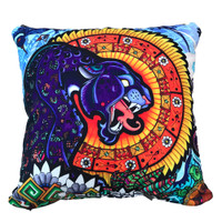 Pulsar Graphic Throw Pillow | Psychedelic Jungle | Master Wholesale