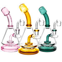 "Pulsar Lab Flask Rig - 8"" / 14mm F / Assorted Colors"