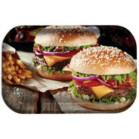 Pulsar Metal Rolling Tray | Burger World | Master Distributor