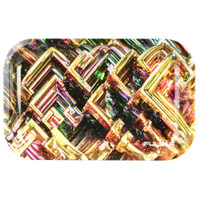 Pulsar Metal Rolling Tray | Bismuth Grid| Wholesale