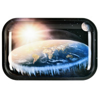 Pulsar Metal Rolling Tray | Flat Earth | Wholesale
