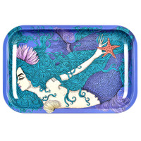 Pulsar Metal Rolling Tray | Majestic Mermaid | Wholesale