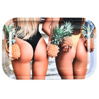Pulsar Metal Rolling Tray | Pineapple Bums | Wholesale