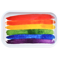 Pulsar Metal Rolling Tray | Pride Paint | Wholesale Distributor