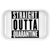 Pulsar Metal Rolling Tray | Straight Outta Quarantine | Wholesale