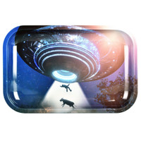 Pulsar Metal Rolling Tray | Take Me to Your Leader | Wholesale