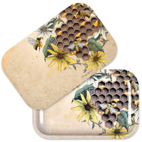 Pulsar Metal Rolling Tray w/ Lid | Busy Bees | Wholesale