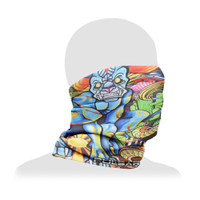 Pulsar Neck/Face Gaiter | Psychedelic Chupacabra | Wholesale Distributor