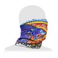 Pulsar Neck/Face Gaiter | Psychedelic Jaguar | Wholesale Distributor