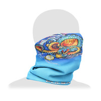 Pulsar Neck/Face Gaiter | Psychedelic Octopus | Wholesale Distributor