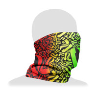 Pulsar Neck/Face Gaiter | Rasta Pulsar P | Wholesale Distributor