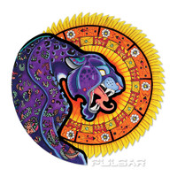 Pulsar Psychedelic Jaguar Sun Sticker | Wholesale Distributor
