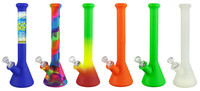 Pulsar RIP Silicone Beaker Water Pipe - 12 Inch - AFG Dist