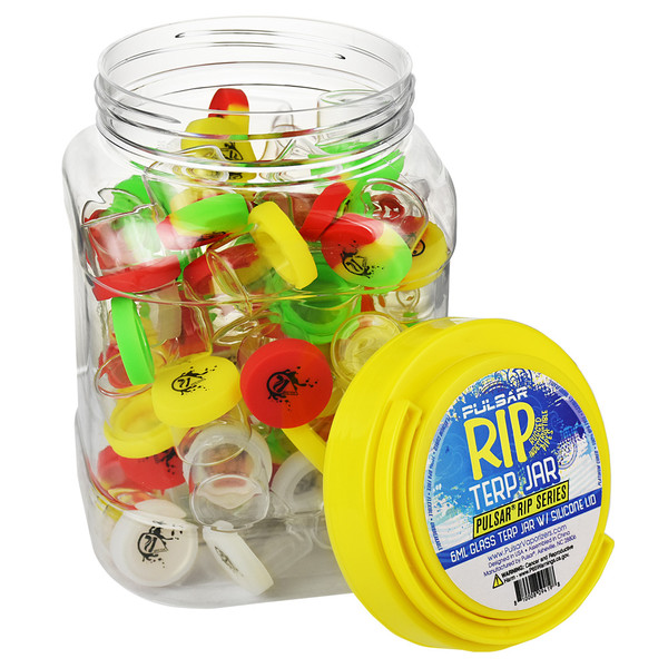 Pulsar RIP Series Glass Terp Jars | Master Distributor
