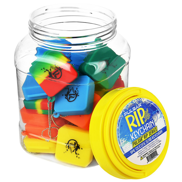 Pulsar RIP Series Silicone Dab Slab Container - 30pc