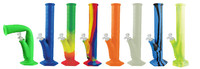 Pulsar RIP Silicone Water Pipe - 13.5 Inches - Asst Colors - AFG Dist