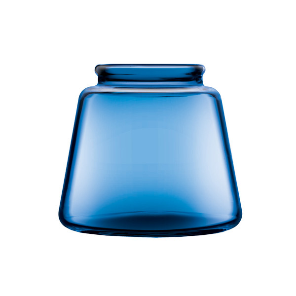 Pulsar RoK Glass Base Jar | Blue Small | Master Distributor
