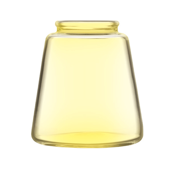 Pulsar RoK Glass Base Jar | Yellow Large | Master Distributor