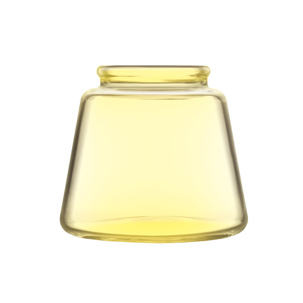 Pulsar RoK Glass Base Jar | Yellow Small | Master Distributor