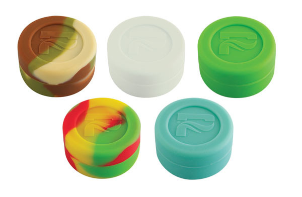 Pulsar Silicone Cylinder Container - 100pc Display