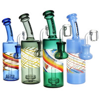 Pulsar Spiral Bottle Dab Rig | 7 Inch | 14mm Female