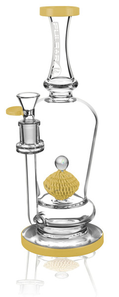 Pulsar Sponge Perc Waterpipe - 11 Inches / 14F - Asst. Colors - AFG