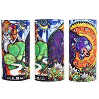 Pulsar Torch Koozie | Psychedelic Jungle | Wholesale Distributor