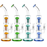 Pulsar Triple Jellyfish Perc Water Pipe | Wholesale Distributor
