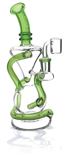 "Pulsar Vortex Recycler Oil Rig - 9"" / 14mm F / Asst Colors"
