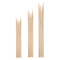 Purple Rose Supply Bamboo Skewers | Assorted | Master Distributor