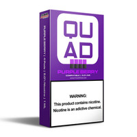 Quad Pods - 5% | 10pk Display | Berry