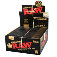 RAW Black Inside Out Papers | Kingsize Slim | Wholesale Distributor