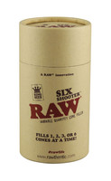 RAW Six Shooter Kingsize Cone Filler - 6.1""