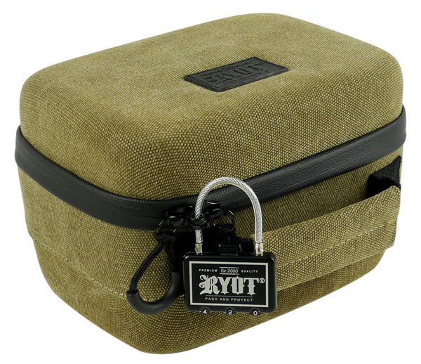 "RYOT 2.3L SafeCase - 8.5""x5.5"" / Small / Olive Green"