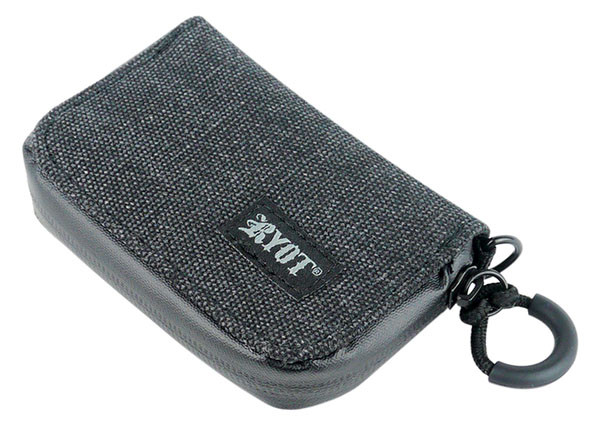 "RYOT SmellSafe Soft Krypto-Kit - 4.65""x3"" / Black"