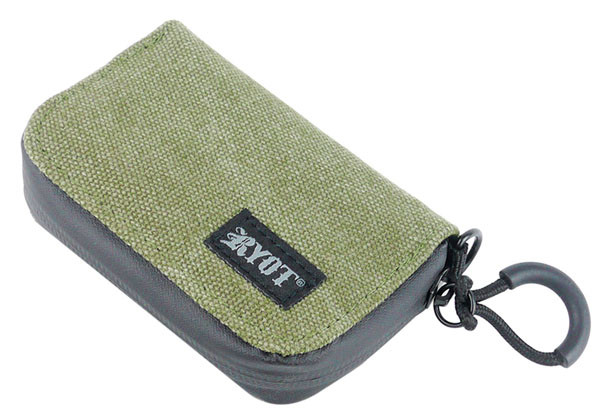 "RYOT SmellSafe Soft Krypto-Kit - 4.65""x3"" / Olive"