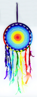 Rainbow Dreamcatcher - 10.5""