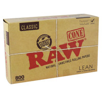 Raw Classic Bulk Lean Cones - 4.3"