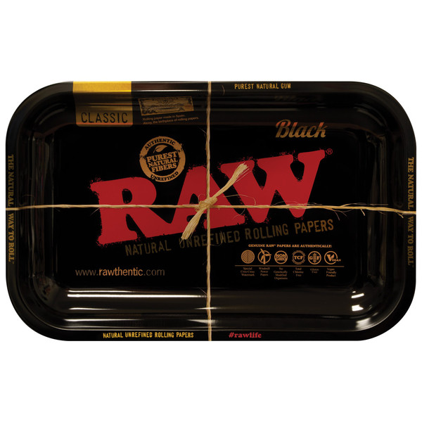Raw High Sided Steel Rolling Tray | Wholesale Distributor