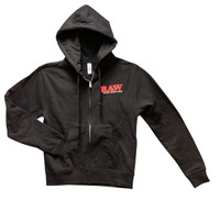 Raw Hoodie - Black / Women's Small - AFG Distribution