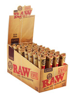 Raw Natural Unrefined Pre Rolled Cones - 1 1/4"