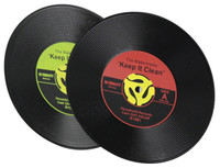 Record Drink Coasters - 4 Pack