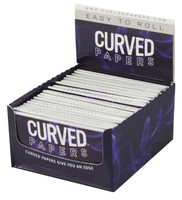 "Regular Curved Rolling Papers - 1 1/4"" - 24pc"