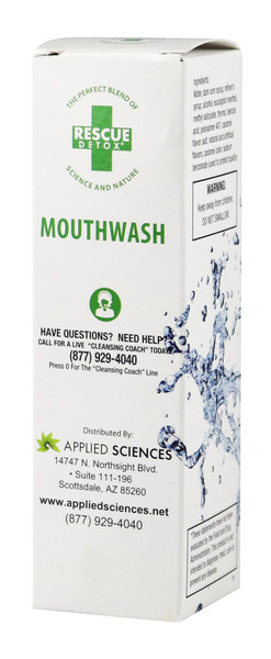 Rescue Detox Mouthwash for Concentrates - 2oz - AFG Distribution